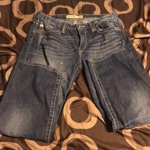 EUC Big Star distressed jeans